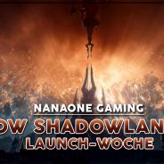 WoW Shadowlands Launch-Woche bei uns im Stream